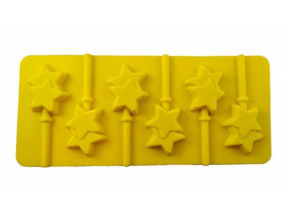 Форма силиконовая Звезды, фото 2