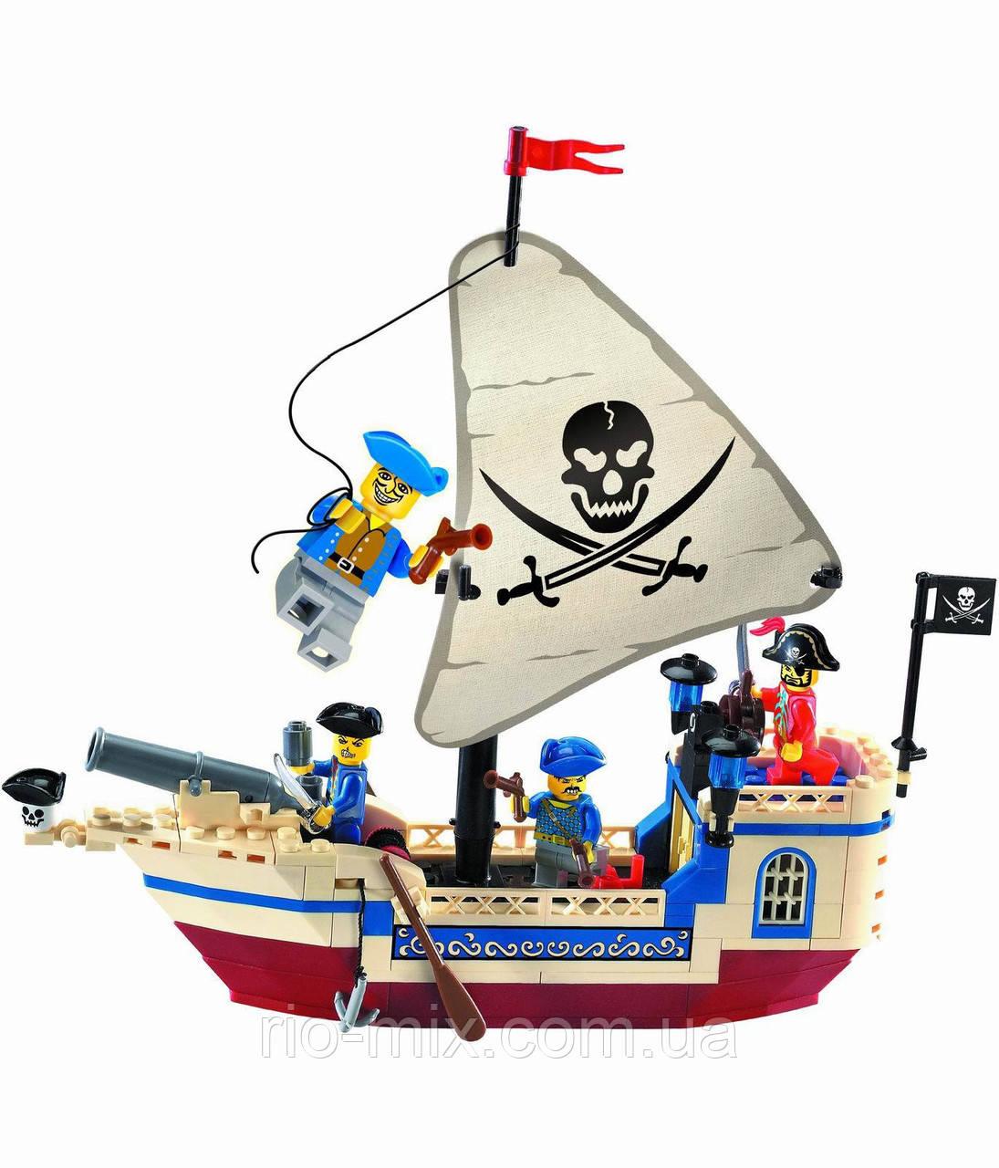 Конструктор Brick 304 Пиратский корабль, фото 1