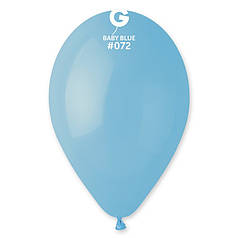 "Куля 10"" (25 см) Gemar пастель 72 ніжно-блакитний (Джемар)"