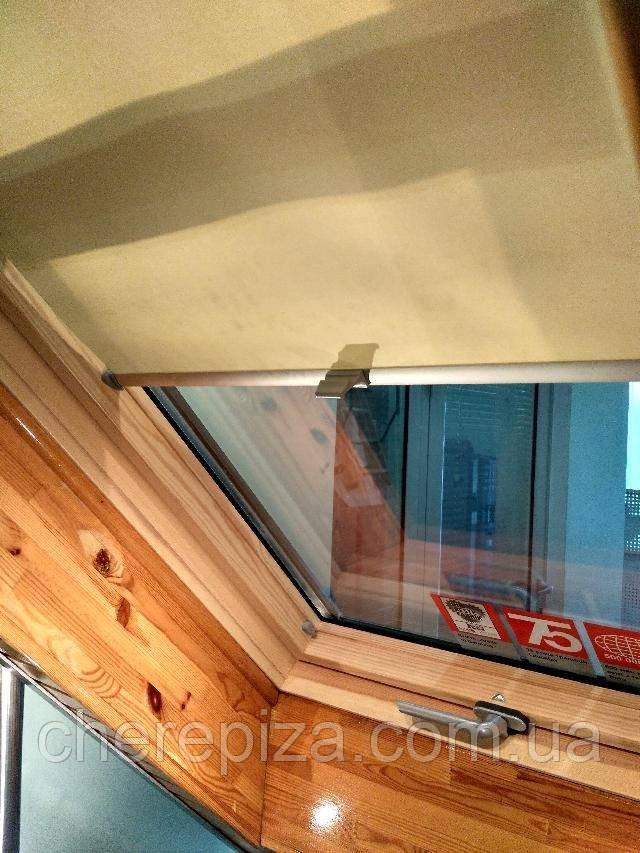 Вікно мансардне Designo зі шторкою акційне WDF R75 H N AL 06/11