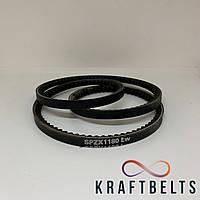 Ремень клиновой зубчатый XPZ-1180 TX KraftBelt