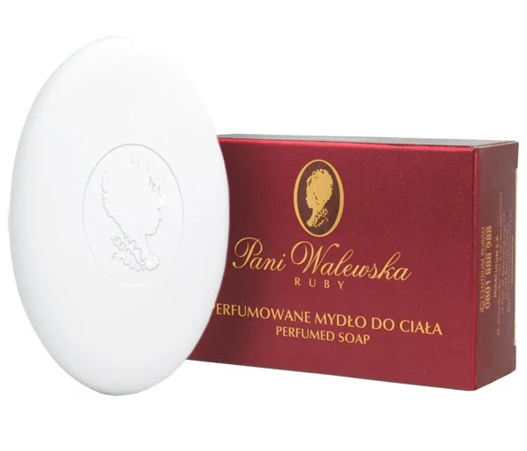 "Парфюмированное крем-мыло ""Pani Walewska"" 100 гр. карт.уп. (борд)"