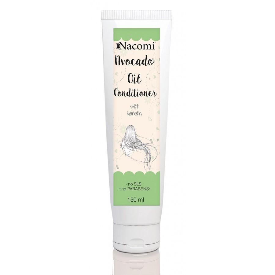 Купить Кондиционер для волос с маслом авокадо и кератином Nacomi Avocad Oil Conditioner 150 мл (5902539703368)