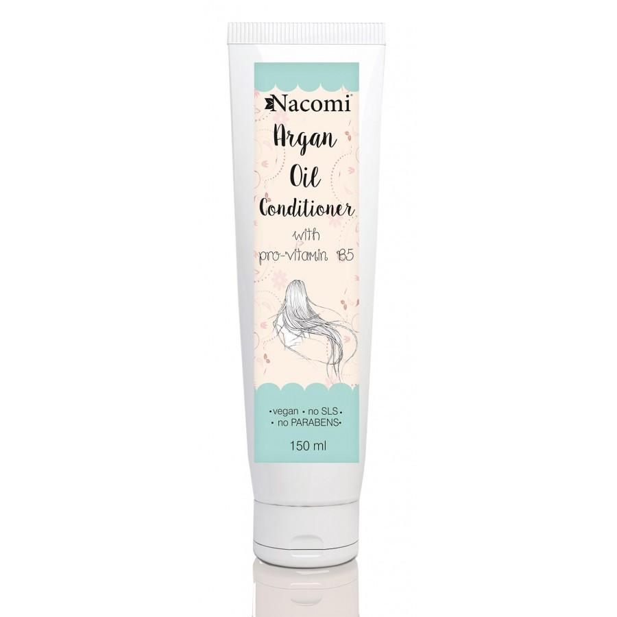 Купить Кондиционер для волос с аргановым маслом и провитамином В5 Nacomi Argan Oil Conditioner 150 мл (5902539703344)