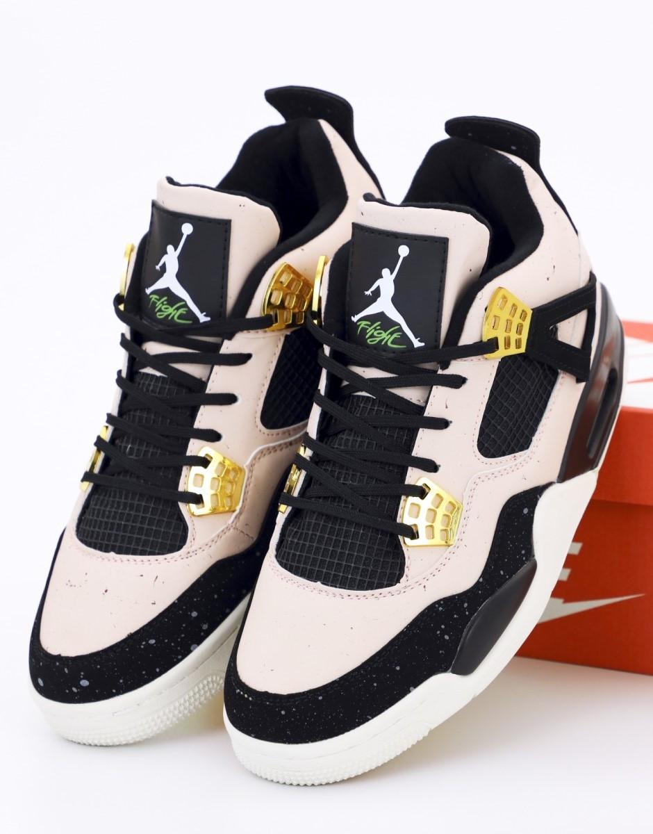 Баскетбольные кроссовки Nike Air Jordan 4 Retro Silt Red/Black (Найк Аир Джордан Ретро)