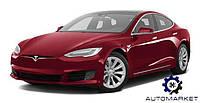 Бампер задний 12- (4 / 6 парктроника) Tesla Model S 2012-2020