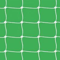 Сетка футбольная 7,5 х 2,55 х 1,5 м (белый)