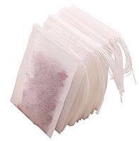 Фильтр-пакеты  V-tie для заваривания чая, большие 25шт. белые