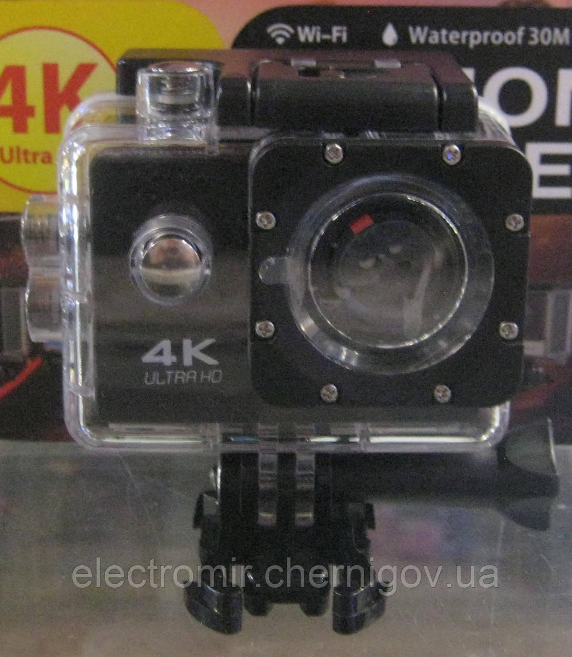 Экшн камера S2 (4K, Wi-Fi)