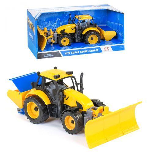 Трактор снегоуборочный, инерционный 9998-40
