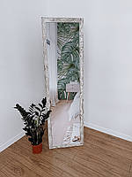 Зеркало напольное в деревянной раме HomeDeco под старину 170х50