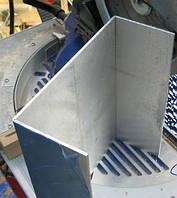 Швеллер алюминиевый прессованый 200х90х12мм