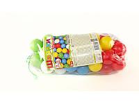 Шарики маленькие для сухого бассейна 50 шт в пакете 6 см