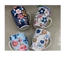 """Чашка """"Квіти"""" 12шт/пал, STU16125-3"""