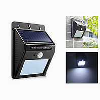 Настінний світильник з датчиком руху на сонячній панелі Ever Brite 4 LED (34814)