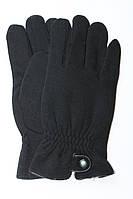 Зимние мужские перчатки с резинкой