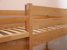 Кровать Дуэт 2-х ярусная (80*190) (Бук/Масив) (с доставкой), фото 3