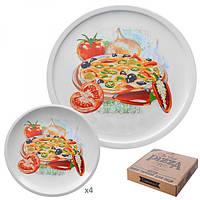 Набір тарілок для піци та млинців 5шт./наб