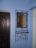 Кованый набор мебели в прихожую  -  011, фото 2