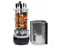 Електрошашличниця Domotec BBQ на 6 шампурів 1000 Вт (34252)