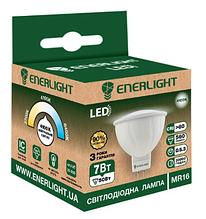 Лампа світлодіодна ENERLIGHT MR16 7Вт 4100K G5.3 ш.к. 4823093500464