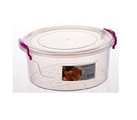 2,1000 мл Контейнер харчовий Round Box 21*20*9.3смAL-Plastik