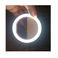 Селфі лампа  Селфі кільце  світлодіодне Led Лампа Кільцеве світло RK 12 (36842)