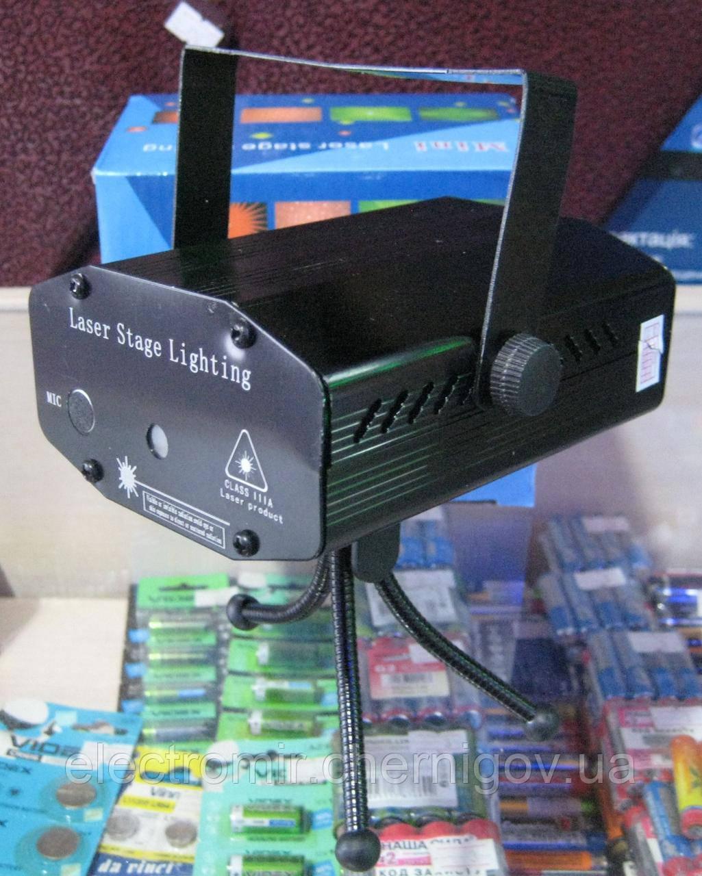 Диско-лазер Mini Laser Stage Lightning