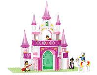 Конструктор SLUBAN М38 В0153 замок для принцессы, 271 деталь, фото 1