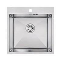 Кухонная мойка Imperial Handmade D5050 2.7/1.0 мм (IMPD5050H10), фото 1