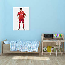"Постер ""Футболист Томас Мюллер"". Thomas Muller, вариант №1. Размер 60x43см (A2). Глянцевая бумага, фото 3"