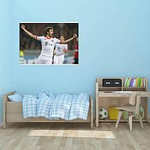 "Постер ""Футболист Томас Мюллер"". Thomas Muller, вариант №3. Размер 60x43см (A2). Глянцевая бумага, фото 3"