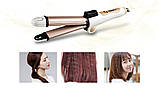 Многофункциональный выпрямитель для волос бигуди для волос керамическое покрытие Kemei KM-8851 3 в 1, фото 3