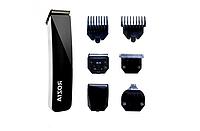 Аккумуляторный Триммер машинка для стрижки волос бритье бороды носа ушей 5 в 1 ROZIA HQ-5300