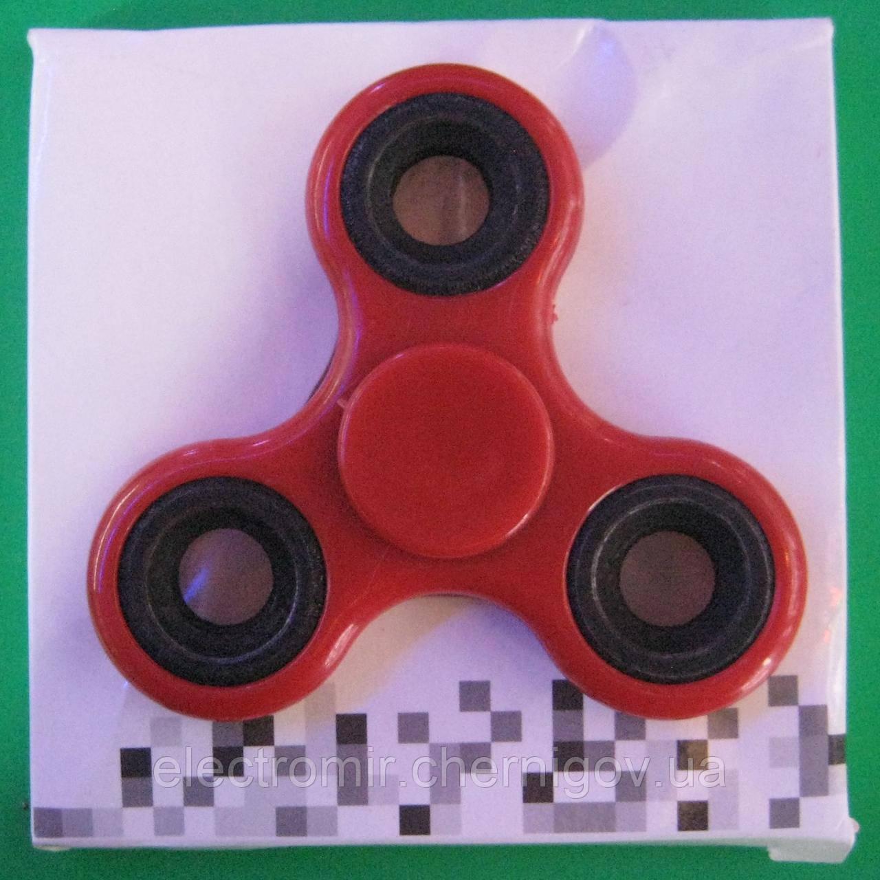 Спиннер пластиковый (красный)