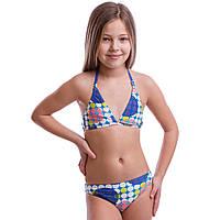 Купальник для плавания раздельный детский Arena LALIT возраст 6-12 лет Синий-белый 6 лет PZ-AR-15653_1