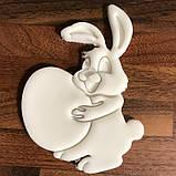 Вирубка кролик з яйцем, Вирубка з відбитком, фото 2