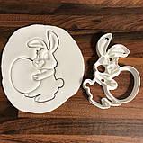 Вирубка кролик з яйцем, Вирубка з відбитком, фото 4