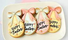 Каттер яйцо с бантиком, Вырубка Happy Easter