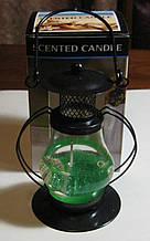 Підсвічник зі свічкою на гелевій основі