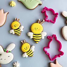 3Д формочки - Бджілки 2шт, Вирубка з пластику, Fortune3D