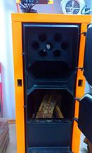 Твердотопливные котле длительного горения ДТМ, модельный ряд котлов 10, 13, 17, 24, 30, 40, 50 кВт