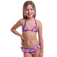 Купальник для плавания раздельный детский Arena LAKESH возраст 8-12 лет Розовый-голубой 8 лет PZ-AR-15656_1