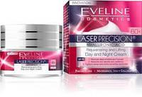 EVELINE cosmetics 50мл LASER PRECISION: экстремальное ЛИФТИНГ Дневной и Ночной крем для лица 60+