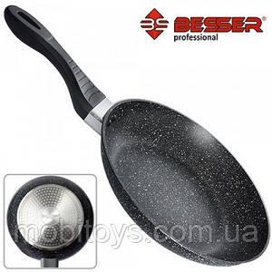 """Сковородка без крышки """"BESSER"""" 20см индукционное дно арт. 10215"""