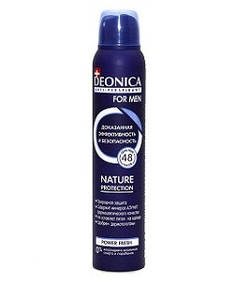 "Антиперспирант ""DEONICA For Men Nature Protection"" 200мл. спрей"