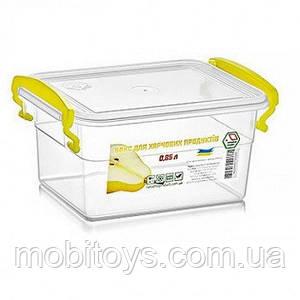 Контейнер пищевой с ручками 850мл 11х15.5х8.4см NP-52 (33шт) / ящ