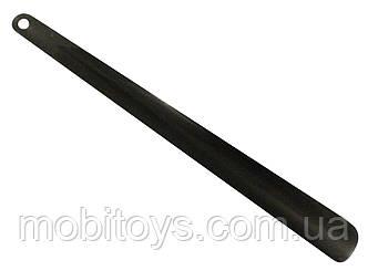 Ложка для обуви металлическая 60 см.10 шт / уп