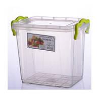 """1,4л. Контейнер пищевой Premium №22 (16,2 * 11,2 * 14,4см) """"AL-Plastik"""""""