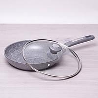 """Сковорода с крышкой """"STENSON"""" антипригарное покрытие (D = 24 см.) МН-0624"""